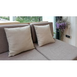 Coussin en latex 100% naturel 45x45