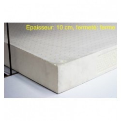 Block of 100% natural latex firm, 10 cm thick