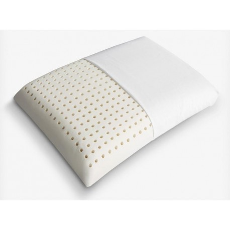 Perforated pillow in 100% natural latex.