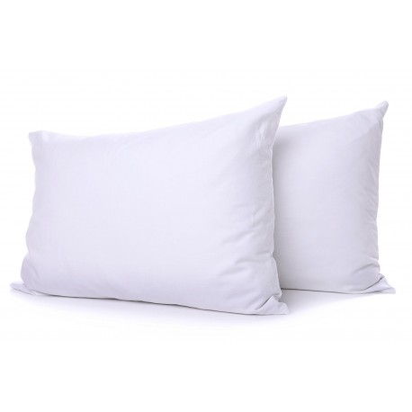 Organic 70x50 linen pillows in 100% natural latex.