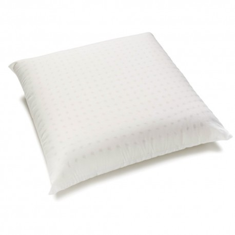 Perforated pillow 60x60 organic cotton natural latex.
