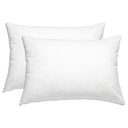 Pillows 70x50 organic cotton, 100% natural latex, anti-mite, thickness of choice