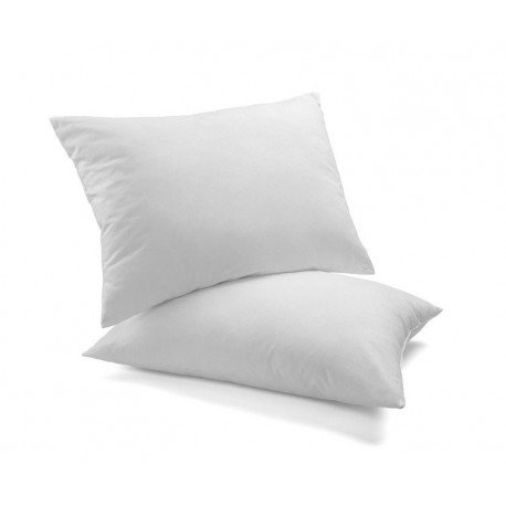 Organic cotton pillow, 60x40, in 100% natural latex