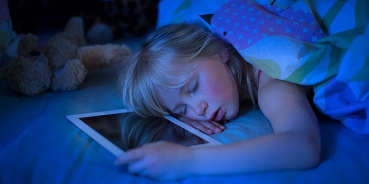 the impact of screens on your sleep.
