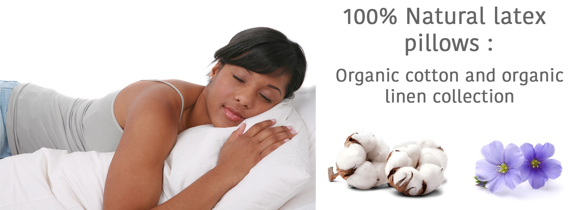 100% natural organic latex pillows