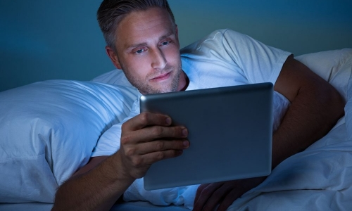 The impact of screens on your sleep